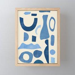 Abstract Shapes 38 Framed Mini Art Print