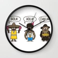 Holler At Your Boys Wall Clock