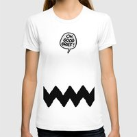 charlie brown T-shirts featuring CHARLIE CHEVRON by John Medbury (LAZY J Studios)