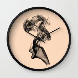 Smoke IIII Wall Clock