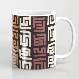 African Kuba Cloth Coffee Mug