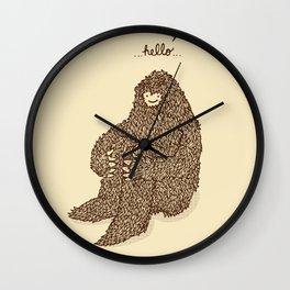 Hello they said one Wall Clock
