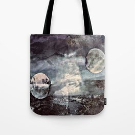 Double Moons Tote Bag