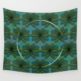 Paradise and Silver Wall Tapestry