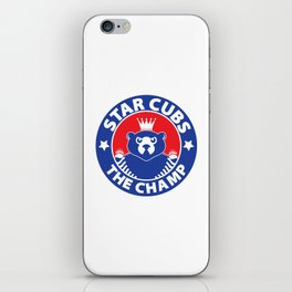 Star Cubs The Champ iPhone Skin