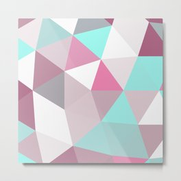 Geometric II Metal Print