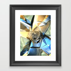 Abstract Macro Structure Framed Art Print