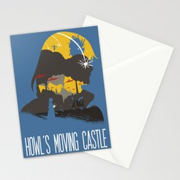 The Many Faces of Cinema: Howls Moving Castle Stationery Cards