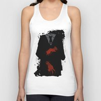 dramatical murder Tank Tops featuring Murder Suit by ODDITY