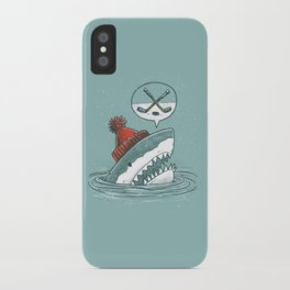 Hockey Shark iPhone Case