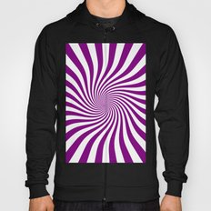 Swirl (Purple/White) Hoody