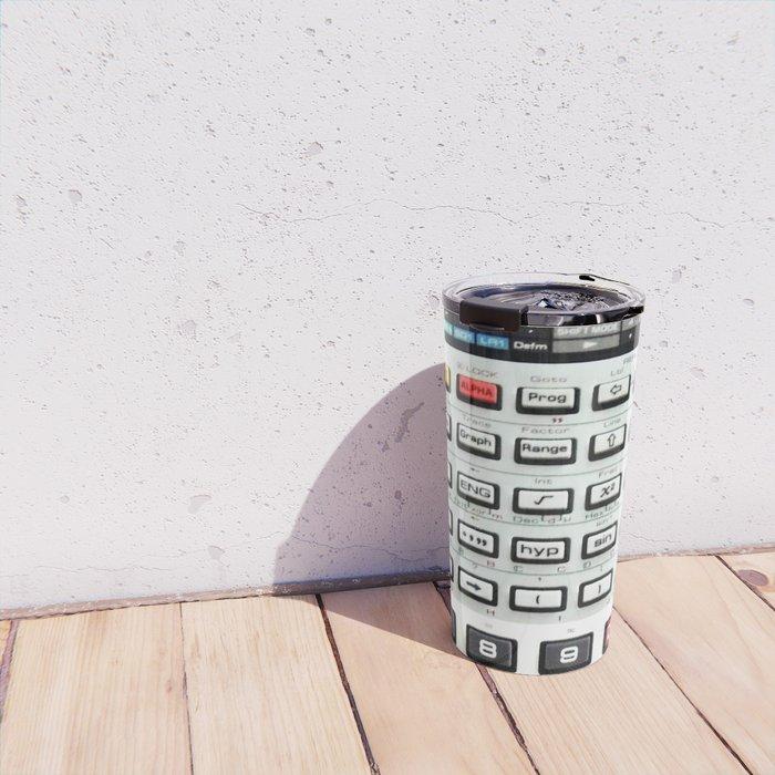 Vintage Calculator Travel Mug