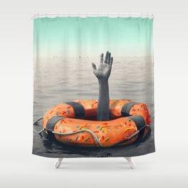 Lifedonut 2 Shower Curtain