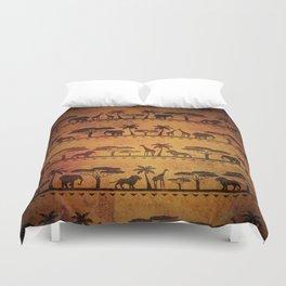 African Animal Pattern Duvet Cover