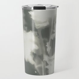 Gray Dahlias Travel Mug