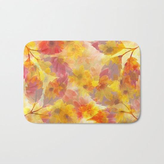 Changing Seasons Abstract Bath Mat