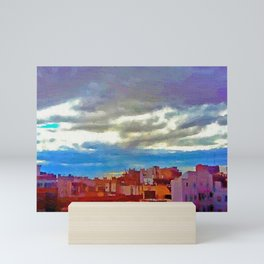 When the afternoon falls on Alicante Mini Art Print