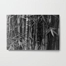 Lovers Bamboo Metal Print