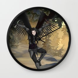 Point of Attack Wall Clock
