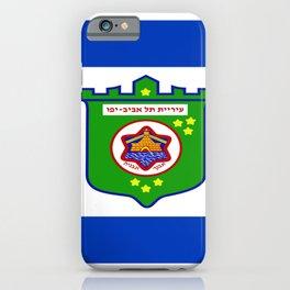 flag of tel aviv iPhone Case