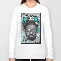 breaking Long Sleeve T-shirts featuring Breaking Bad by Sophie Bland