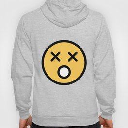 Smiley Face   Dead Open Mouth Hoody