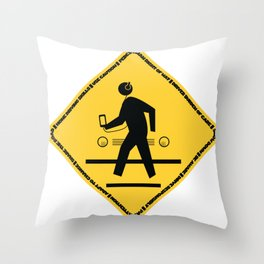 PeDX Throw Pillow