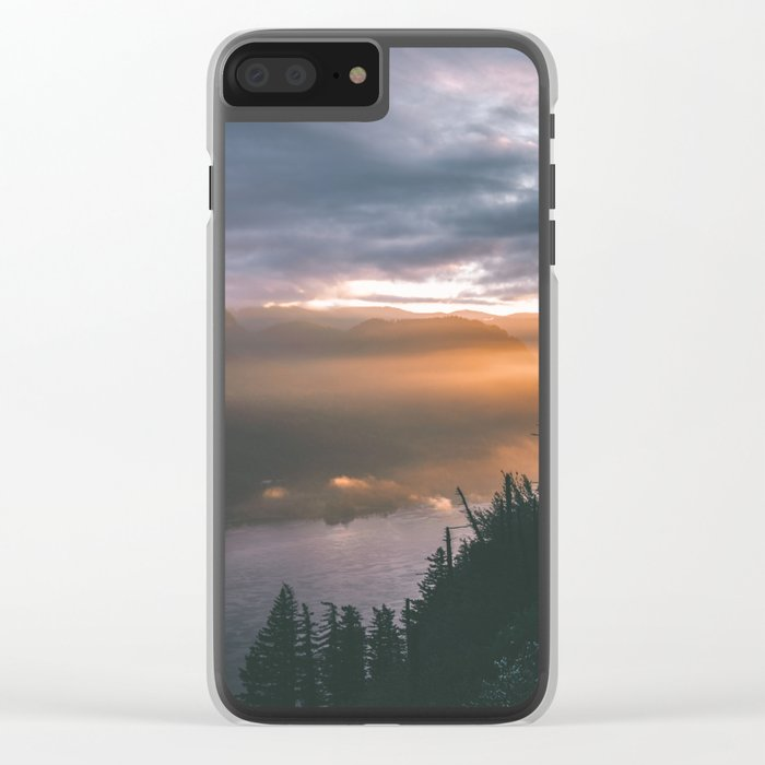 Early Mornings Clear iPhone Case