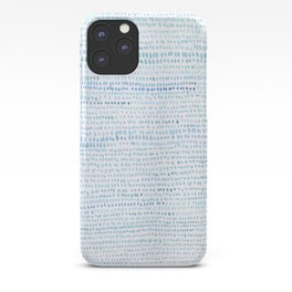 BLUE/GREEN DOTTED PATTERN  iPhone Case