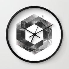 Optical landscape Wall Clock