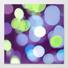 Purple Light Canvas Print