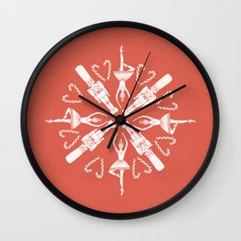 Go Nuts Wall Clock
