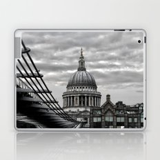 St.Paul's Cathedral in monochrome Laptop & iPad Skin