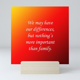Our Differences Mini Art Print