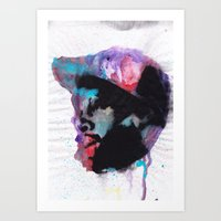 j dilla Art Prints featuring J Dilla - Mystique in Music by Ronny Hash