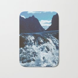 Spring Awakening in the Mountains Bath Mat