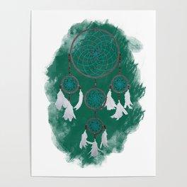 Classic Dreamcatcher 2: Green background Poster