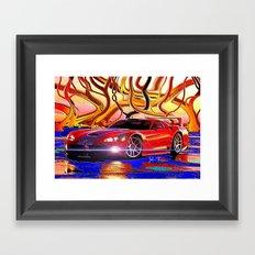 Dodge Viper Framed Art Print