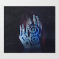 celtic Canvas Prints featuring Celtic by Severine A. Raynaud