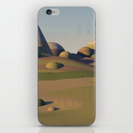 Geometric Landscape iPhone Skin