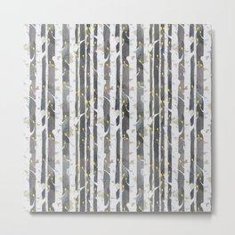 Gamueta - Trees Pattern Metal Print
