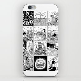 Burger iPhone Skin