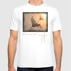 The Evening Light Mens Fitted Tee White MEDIUM
