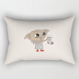 Dobby Rectangular Pillow