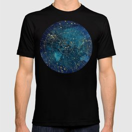 Star Map :: City Lights T-shirt