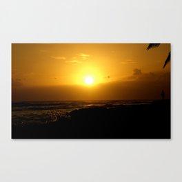 Hawaii Sunset Series A Canvas Print