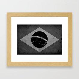 Brasil - Black&White Framed Art Print