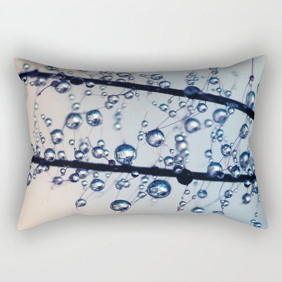 Smoke Bush Jewels Rectangular Pillow