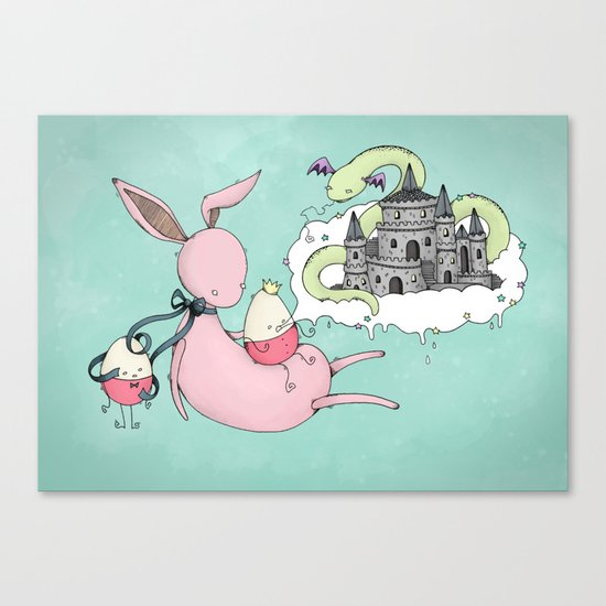 The Tall Tale Canvas Print
