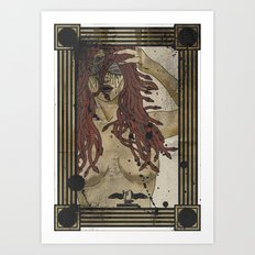 Medusa print Art Print
